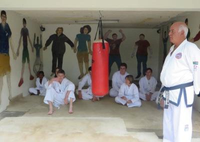 Sabum Jimmy with Learners