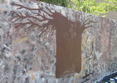 Baobab Tree on the Wall