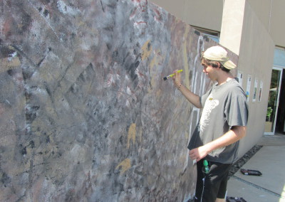 James Wall Painting, Origins Centre