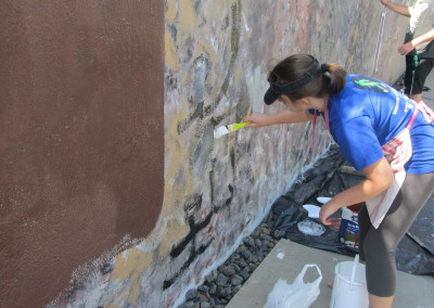 Painting the Wall, Origins Centre